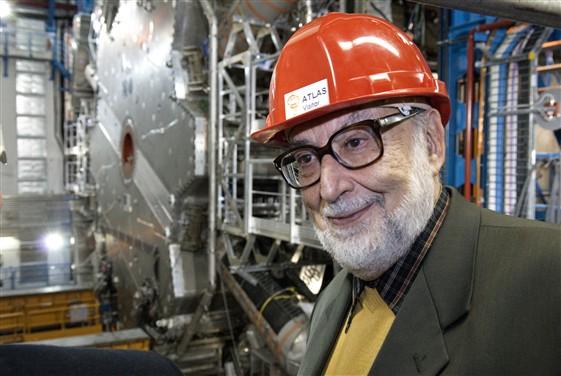 Nobel Laureate François Englert visits ATLAS
