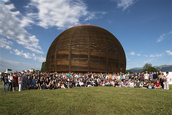 CERN summer students 2012